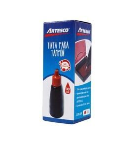 Tinta para Tampón Rojo Artesco