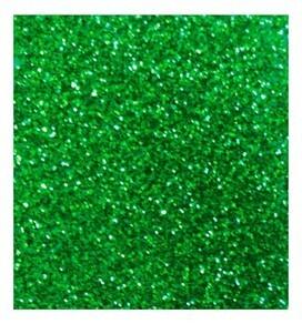 Papel Escarchado 50 x 65 cm Verde Unid. Standford