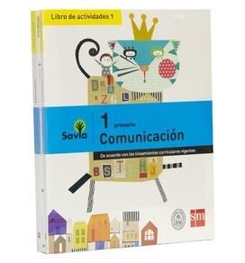 Comunicación 1 Savia Libro de Actividades Savia Vol I y II Editorial SM