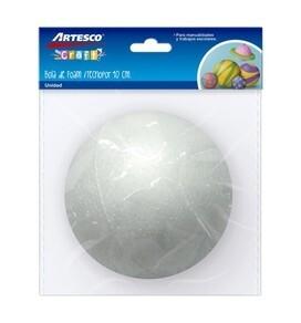 Bola de Tecnopor 10 cm Bolsa x 1 Unidad Artesco